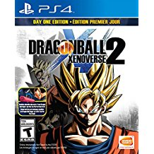 PS4: DRAGONBALL XENOVERSE 2 (NM) (COMPLETE)