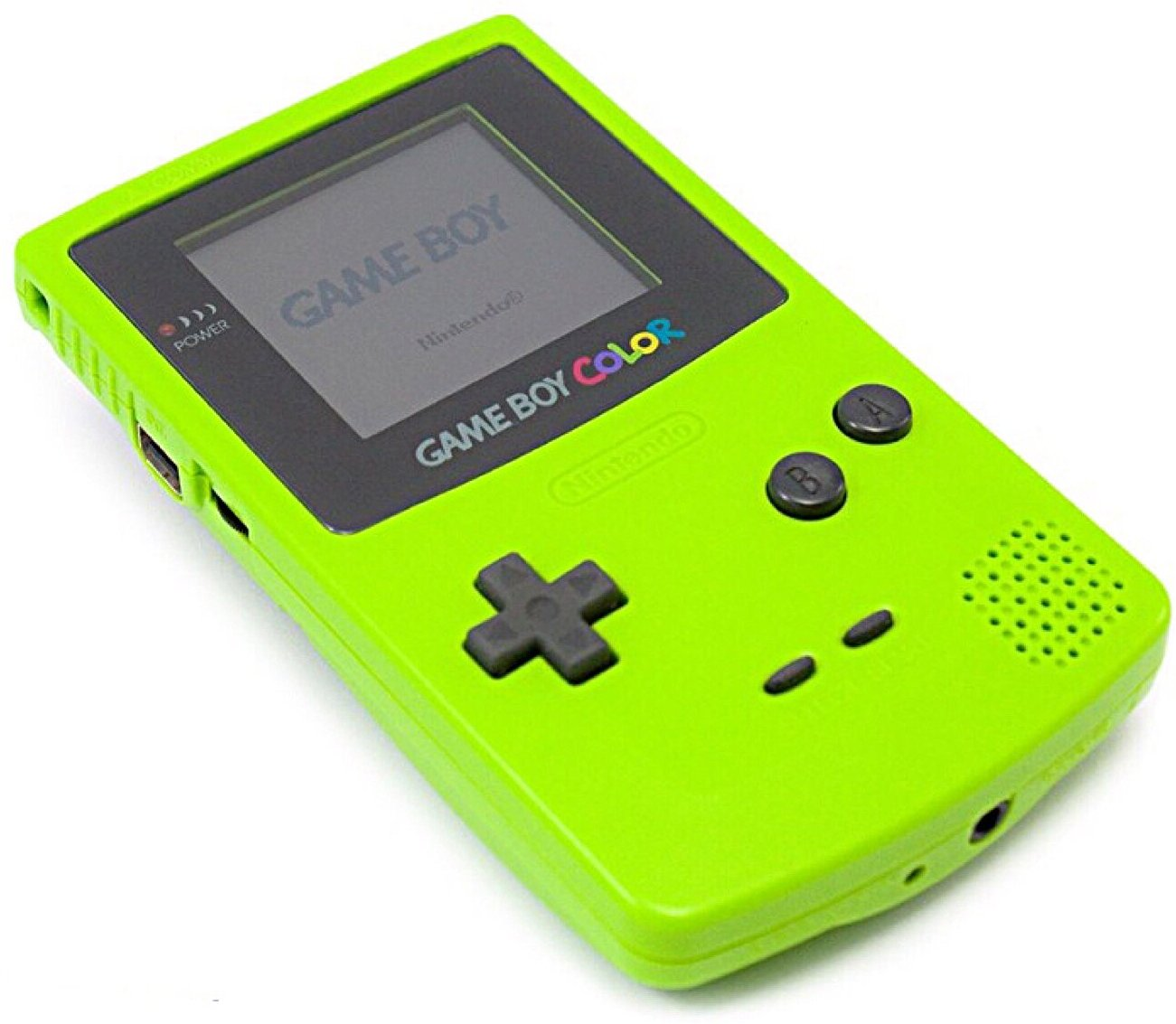 GBC: CONSOLE - GAMEBOY COLOR - KIWI (W/ COVER) (USED)