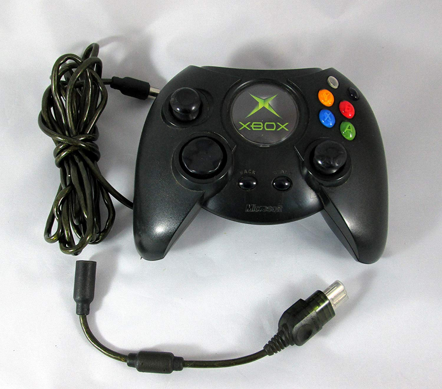 XBX: CONTROLLER - WIRED - MSFT - FAT - THE DUKE (USED)