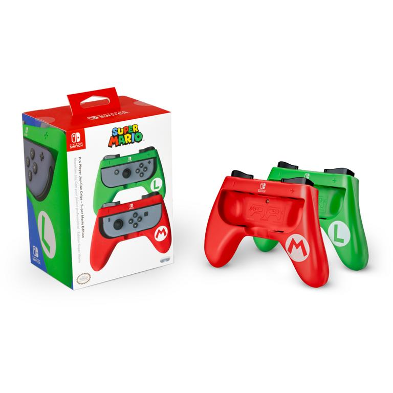NS: CONTROLLER - LUIGI JOY-CON GRIP (USED)