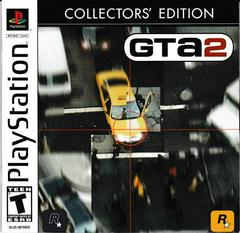 PS1: GRAND THEFT AUTO 2 COLLECTORS EDITION (GTA) (2 DISC) (COMPLETE)