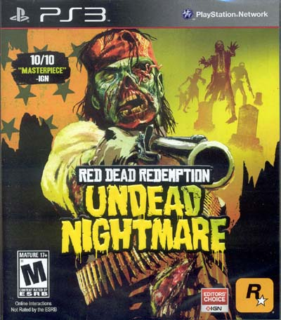 PS3: RED DEAD REDEMPTION: UNDEAD NIGHTMARE (NEW)