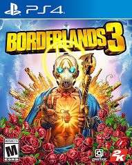 PS4: BORDERLANDS 3//SUPER DELUXE ED. (NM) (STEEL BOOK) (COMPLETE)