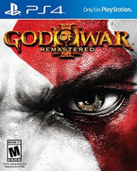 PS4: GOD OF WAR III REMASTERED (NM) (COMPLETE)