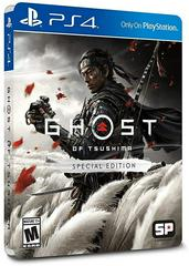 PS4: GHOST OF TSUSHIMA SPECIAL EDITION (NM) (COMPLETE)