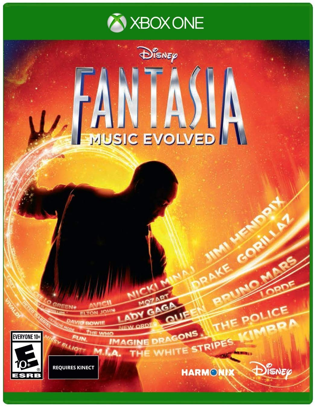 XB1: FANTASIA: MUSIC EVOLVED (DISNEY) (NM) (COMPLETE)