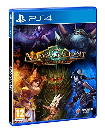 PS4: ARMA GALLANT DECKS OF DESTINY (NM) (COMPLETE)