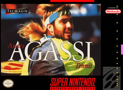 SNES: ANDRE AGASSI TENNIS (GAME)