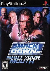 PS2: WWE SMACKDOWN SHUT YOUR MOUTH (COMPLETE)