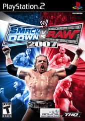 PS2: WWE SMACKDOWN VS RAW 2007 (COMPLETE)