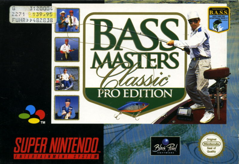 SNES: BASS MASTERS CLASSIC PRO EDITION (GAME)