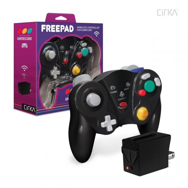 GC: CONTROLLER - FREEPAD GENERIC - WIRELESS - BLACK (NEW)