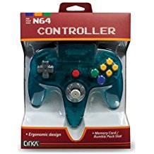 N64: CONTROLLER - CIRKA GENERIC - TURQUOISE (NEW)