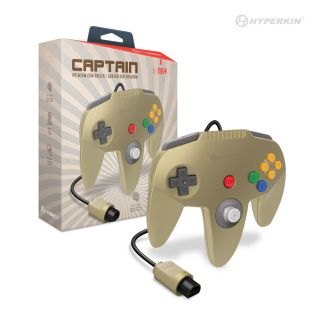 N64: CONTROLLER - CAPTAIN - GOLD (NEW)