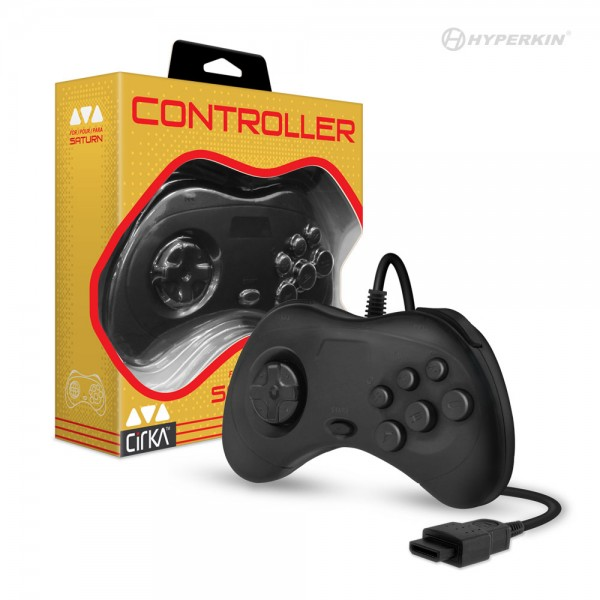SAT: CONTROLLER - CIRKA GENERIC - WIRED - BLACK (NEW)