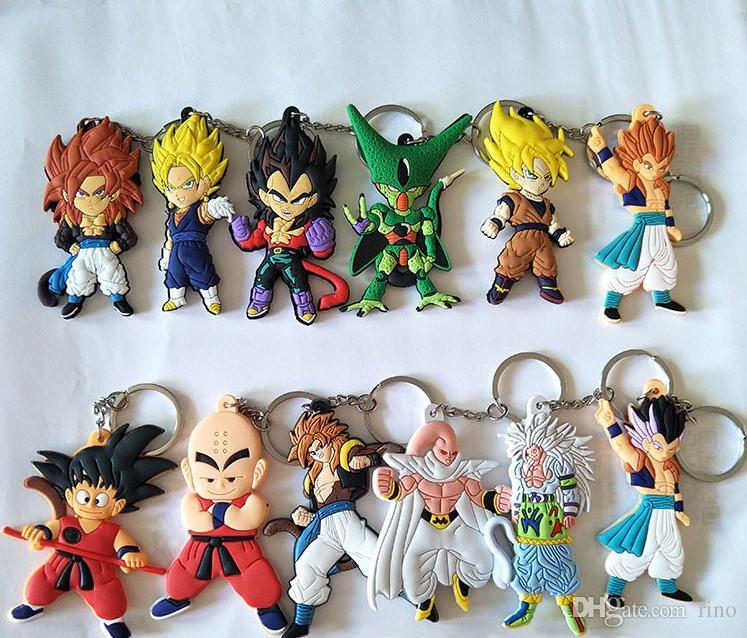 MISC: ASSORTED DRAGON BALL Z KEY CHAIN (NEW)