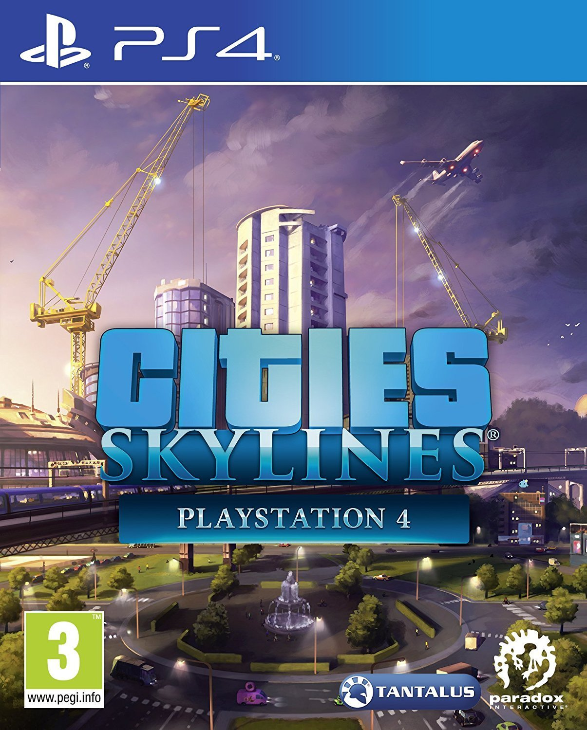PS4: CITIES SKYLINES (NM) (GAME)