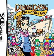 NDS: DINER DASH: FLO ON THE GO (GAME)