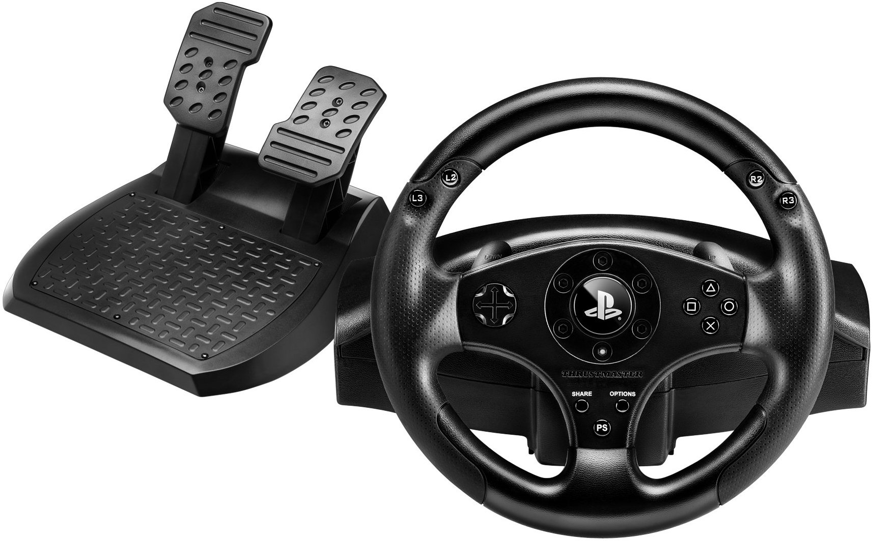 PS3/PS4: THRUSTMASTER T80 RS PS3/PS4 OFFICALLY LICENSED RACING WHEEL (USED)