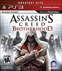 PS3: ASSASSINS CREED BROTHERHOOD (COMPLETE)