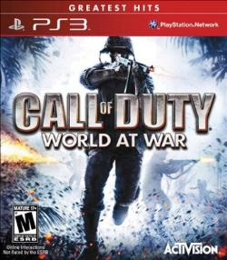 PS3: CALL OF DUTY: WORLD AT WAR (COMPLETE)