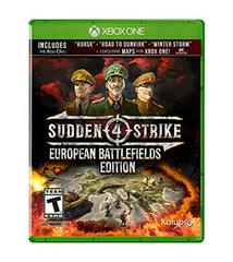 XB1: SUDDEN STRIKE 4: EUROPEAN BATTLEFIELDS EDITION (NM) (COMPLETE)
