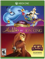 XB1: DISNEY CLASSIC GAMES; ALADDIN AND LION KING;THE ; (NM) (COMPLTE)