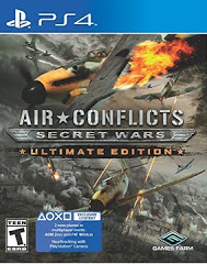 PS4: AIR CONFLICTS: SECRET WARS ULTIMATE EDITION (NM) (COMPLETE)