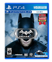 PS4: BATMAN ARKHAM VR (NM) (COMPLETE)