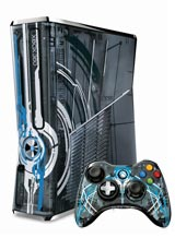 360: CONSOLE - SLIM - 320GB - HALO 4 EDITION - INCL: HALO 4 (GAME) 1 HALO 4 CTRL; HOOKUPS (USED)