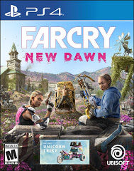 PS4: FAR CRY NEW DAWN (NM) (COMPLETE)