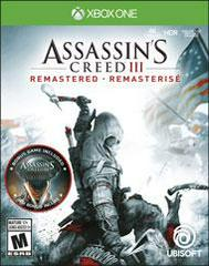 XB1: ASSASSINS CREED III REMASTERED (NM) (COMPLETE)