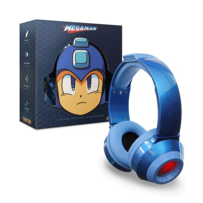 MISC: MEGA MAN HEADSET - LIMITED EDITION BLUE (NEW)