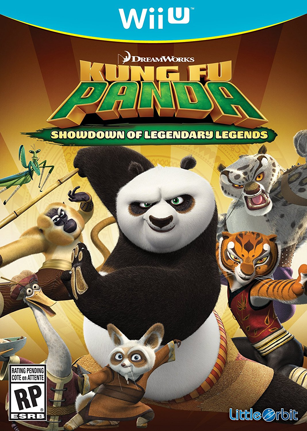 WIIU: KUNG FU PANDA: SHOWDOWN OF LEGENDARY LEGENDS (COMPLETE)