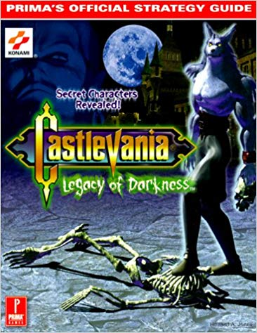 GD: CASTLEVANIA LEGACY OF DARKNESS (PRIMA) (USED)