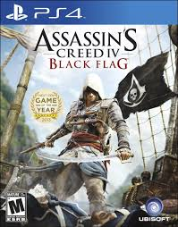 PS4: ASSASSINS CREED IV BLACK FLAG (NM) (COMPLETE)