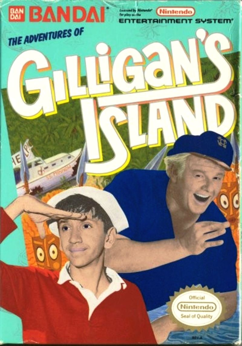 NES: ADVENTURES OF GILLIGANS ISLAND (GAME)