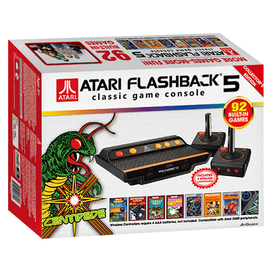PNP: ATARI FLASHBACK 5 W/ 2 WIRELESS CTRLS (CIB) (USED)