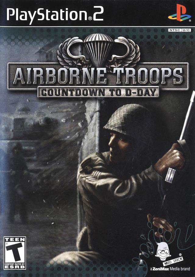 PS2: AIRBORNE TROOPS: COUNTDOWN TO D-DAY (COMPLETE)