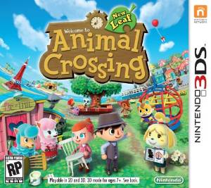 3DS: ANIMAL CROSSING NEW LEAF (NM) (GAME)