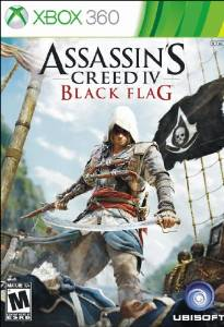 360: ASSASSINS CREED IV: BLACK FLAG STEELBOOK EDITION (2DISC) (NM) (COMPLETE)