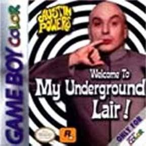 GBC: AUSTIN POWERS: WELCOME TO MY UNDERGROUND LAIR! (GAME)