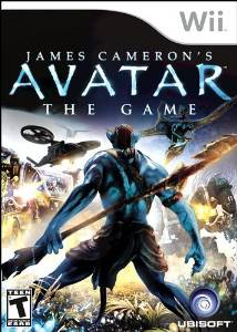WII: AVATAR THE GAME; JAMES CAMERONS (COMPLETE)
