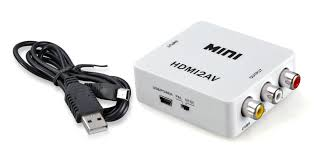 MISC: UPSCALER - GENERIC - AV TO HDMI (720 OR 1080P CONVERTER) (NEW)