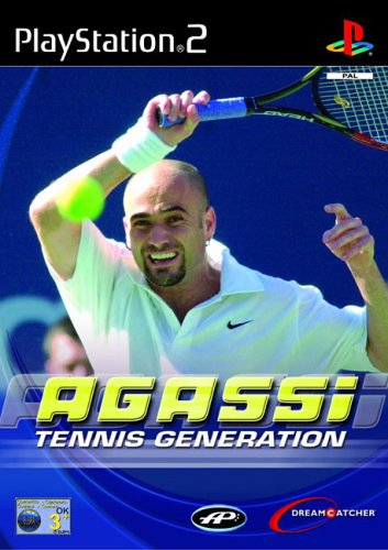PS2: AGASSI TENNIS GENERATION (COMPLETE)
