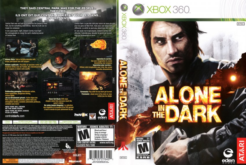 360: ALONE IN THE DARK (GAME)