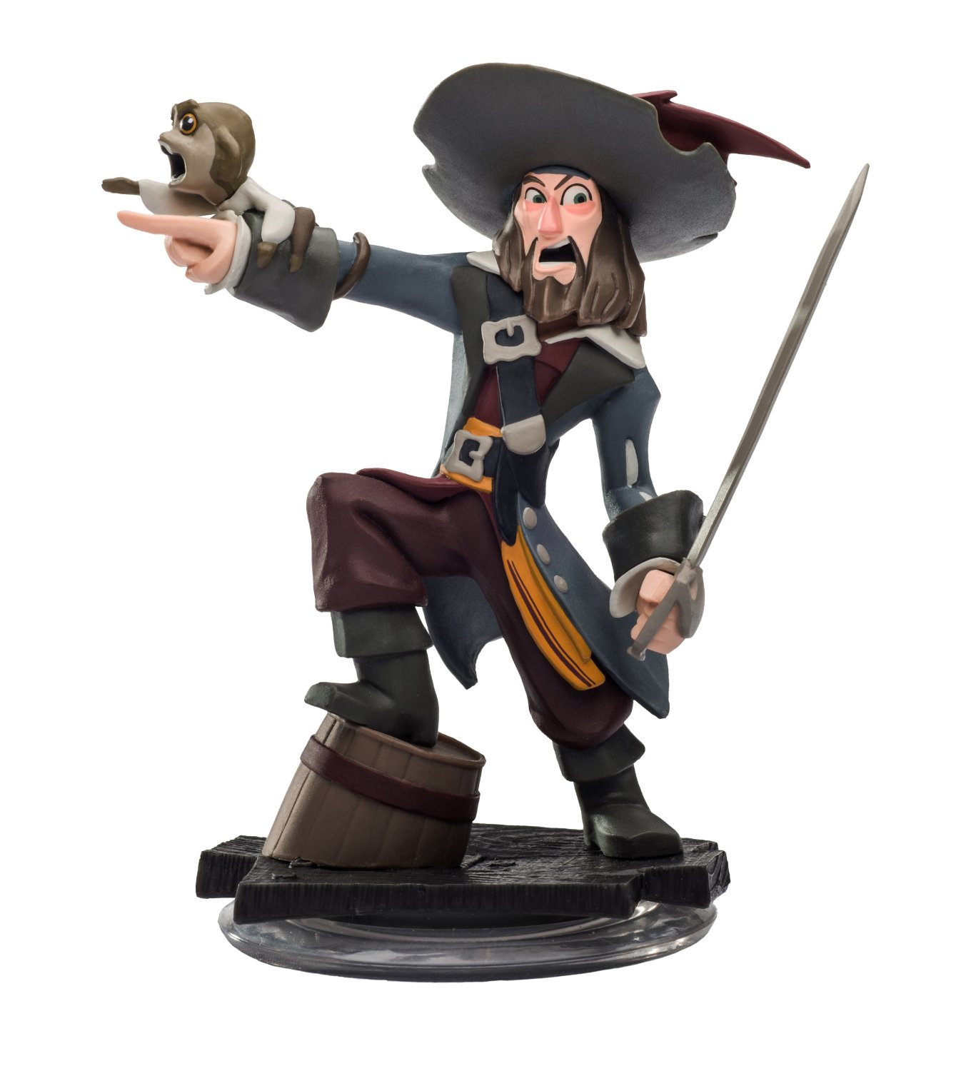 FIG: DISNEY INFINITY 1.0: HECTOR BARBOSSA (USED)