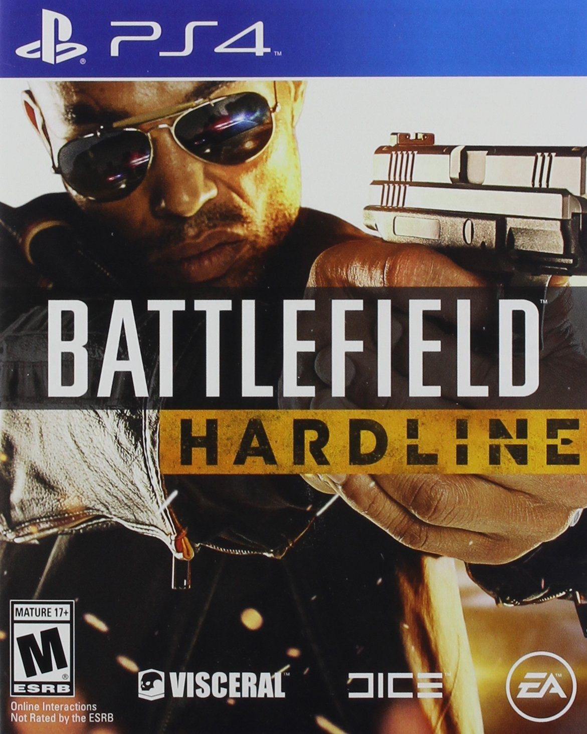 PS4: BATTLEFIELD HARDLINE DELUXE EDITION (NM) (COMPLETE)