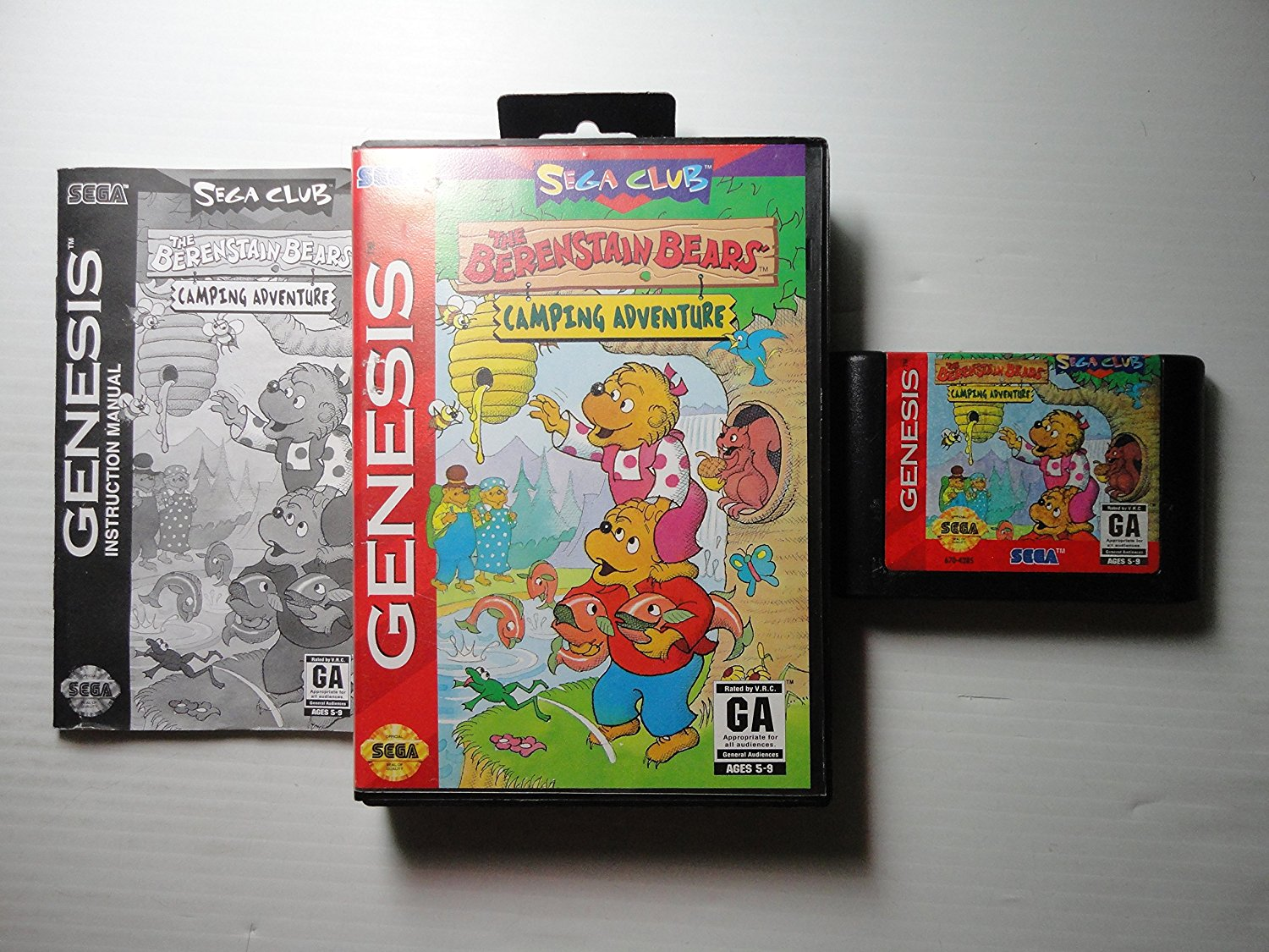 SG: BERENSTAIN BEARS; THE: CAMPING ADVENTURE (COMPLETE)