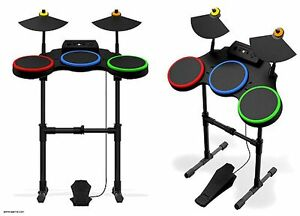 360: CONTROLLER - GUITAR HERO - DRUMSET - WIRELESS (USED)